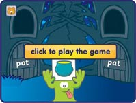 try Phonics Hero blending sounds game